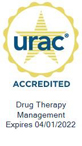 URAC Seal: URAC Accredited Drug Therapy Management - Expires 4/1/2022