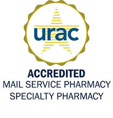 URAC Seal: URAC Accredited Mail Service Pharmacy Specialty Pharmacy