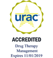 URAC Seal: URAC Accredited Drug Therapy Management